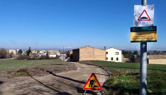 Sant Guim de Freixenet recupera los caminos de acceso a la población