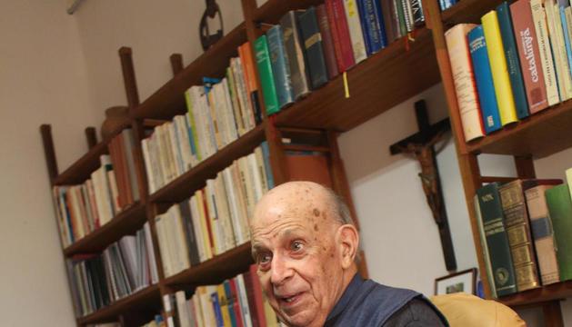 """Pare Joan Ribalta: """"He viscut l'exili i el franquisme però el moment polític actual és dels pitjors"""""""