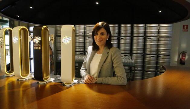 Marta Cuadrat, en las instalaciones que la empresa tiene en Lleida.