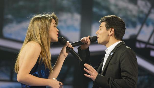 Amaia i Alfred interpretant 'Tu canción'.