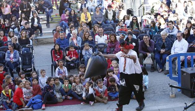 Una de les actuacions del festival Buuuf!!! de l'any passat.