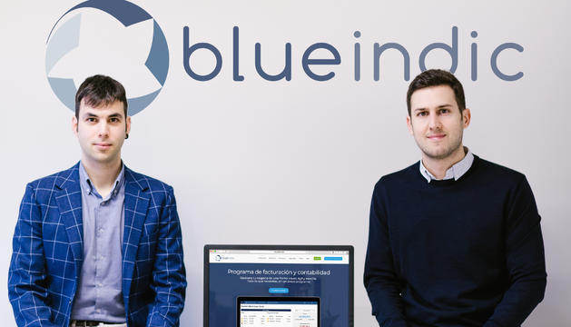 Sergio Luaces i David Vara, de Blueindic