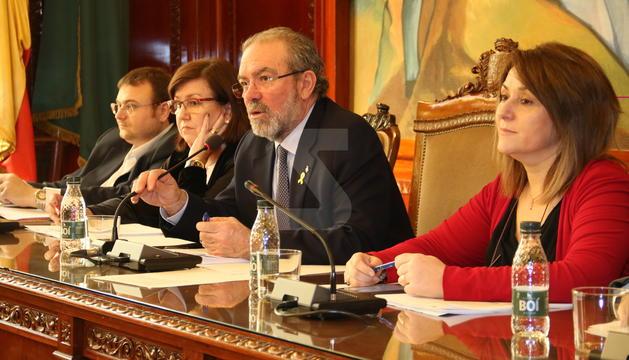 Un moment de la Diputació de Lleida.