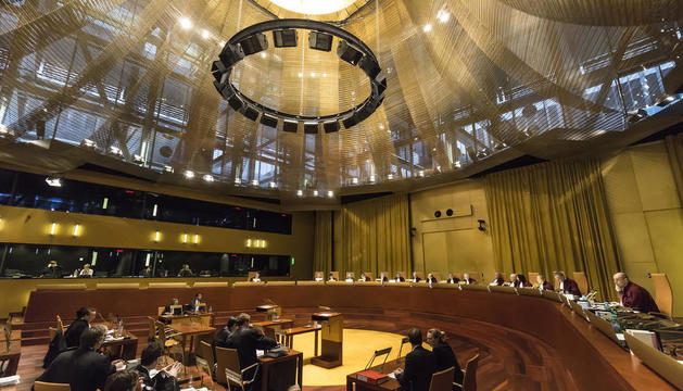 Imagen de una vista del Tribunal de Justicia de la UE.
