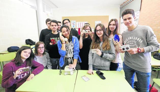 Alumnes del Guindàvols que van participar en l'activitat.