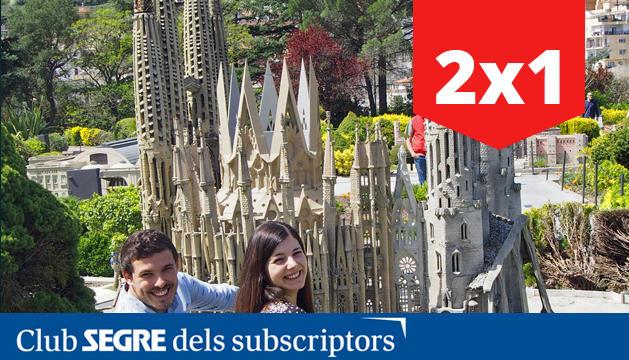 Parc de les maquetes de Catalunya en miniatura.