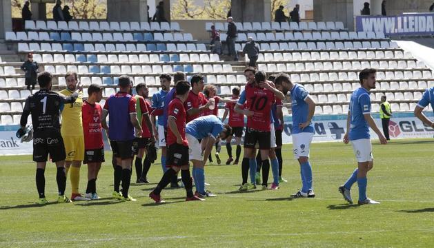 El Lleida pateix una derrota decebedora