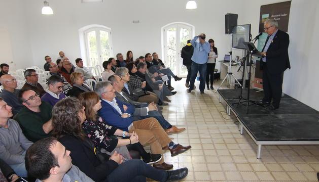 L'acte de presentació de les novetats del projecte 'Espais Naturals de Ponent' ha tingut lloc al Mas de Melons.