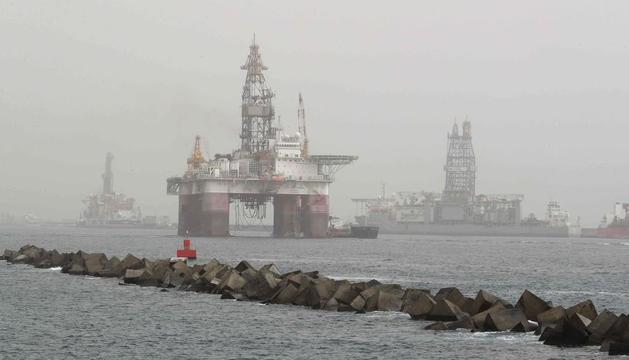 Imagen de archivo de una plataforma petrolífera.