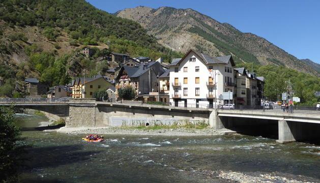 Imagen de archivo de Llavorsí, en el Pallars Sobirà.