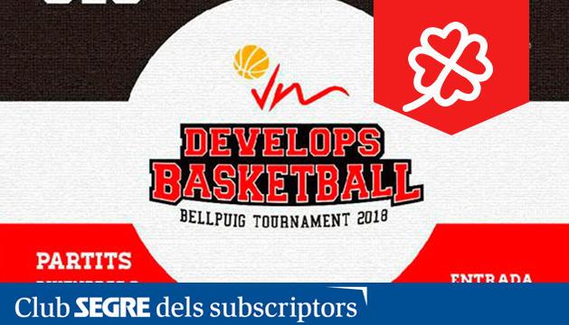 1er Torneig VM Develops Basketball a Bellpuig.