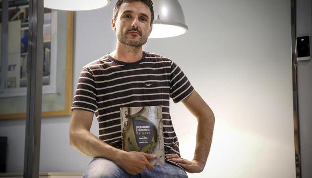 Isaac Beà, autor del 'Diccionari Etnogràfic Pallarès'.