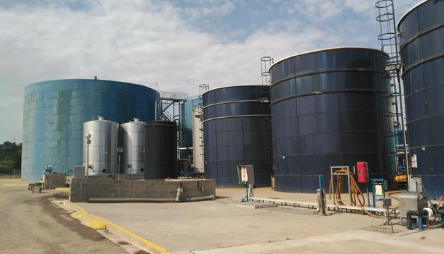 Imatge d'arxiu de la planta tancada de Tracjusa, a Juneda.