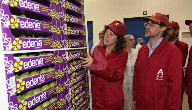 La consellera d'Agricultura ha visitat les instal·lacions d'Actel a Térmens