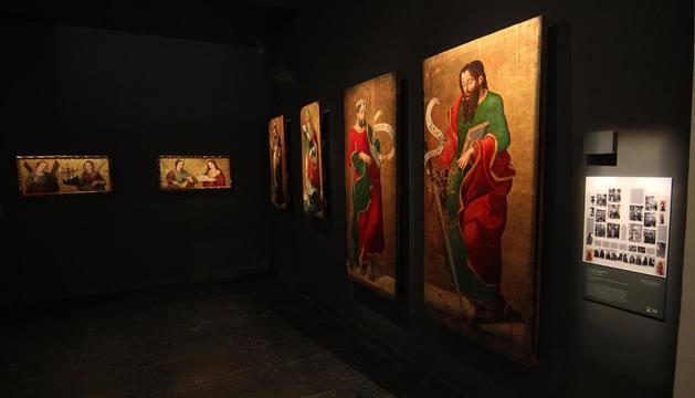 La taula 'Jesús entre els doctors de la llei' acompanyarà les quatre que ja exhibeix el Museu de Lleida.