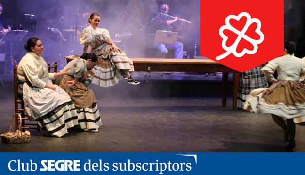 Imatge de l'espectacle 'Pilar de dos'.