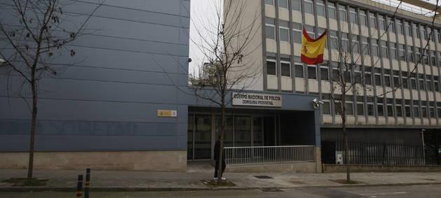 Imatge de la comissaria de la Policia Nacional de Lleida.