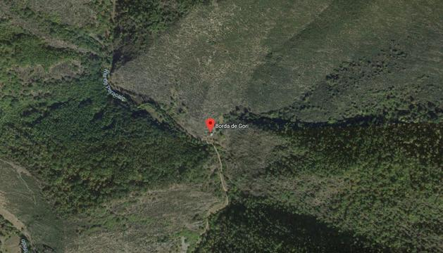 El cuerpo ha sido localizado al lado de la Borda de Gori
