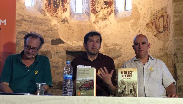 Antich, Joan-Lluís Lluís i Villaró, a Estamariu, a la primera trobada d''assassins' de Franco.