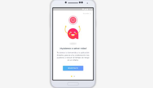 Imagen de la 'app'.