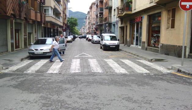 Imatge d'un dels carrers de la Seu que es milloraran.