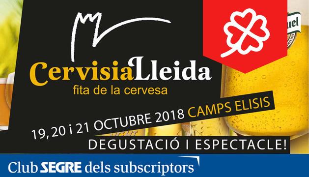 El cartell d'una nova edició de Cervisia.