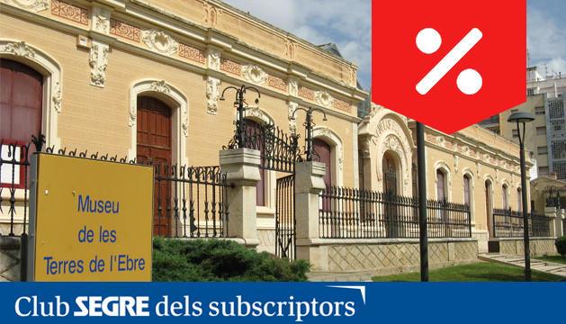 Entrada del Museu de las Tierras del Ebro.