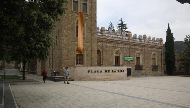 Imagen del ayuntamiento de La Pobla de Segur.
