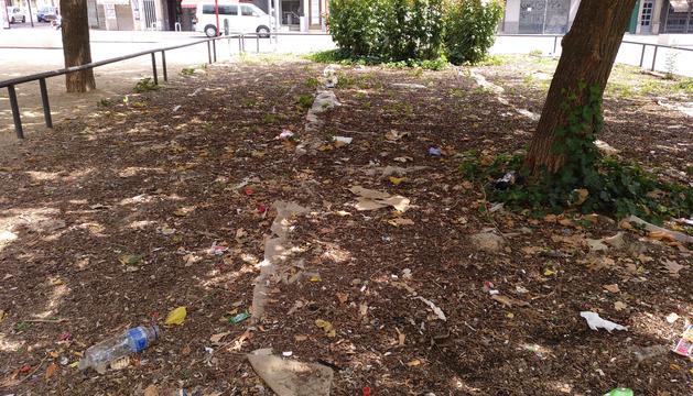Imatge de la plaça Pau Casals