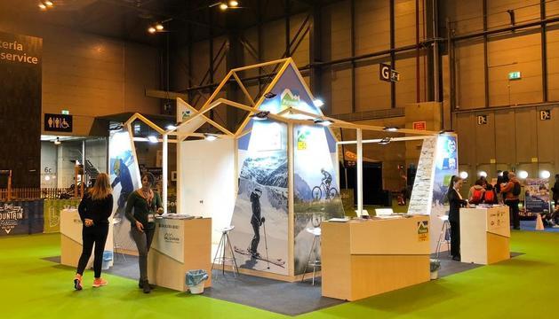 L'estand on es promocionarà la Val d'Aran i Baqueira.