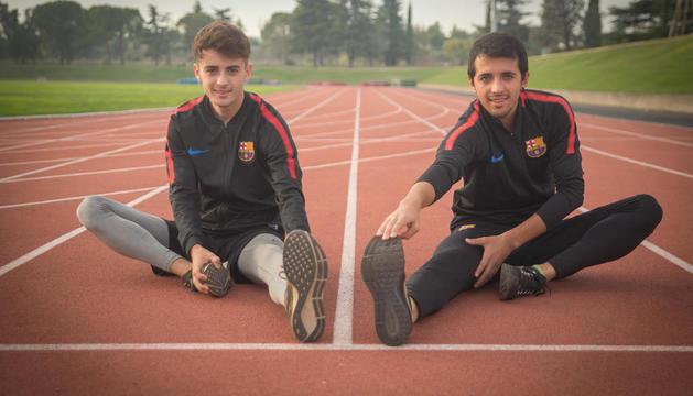 """Aleix i Gerard Porras: """"És un èxit córrer un mundial perquè només hi arriben molt pocs atletes"""""""
