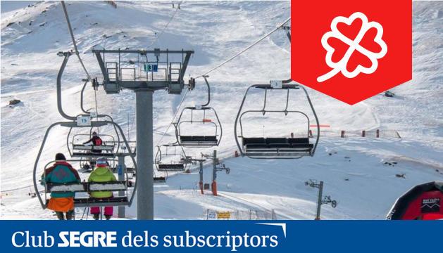 L'estació d'esquí Boí Taüll, aquest any guardonada com a millor estació d'esquí d'Espanya.