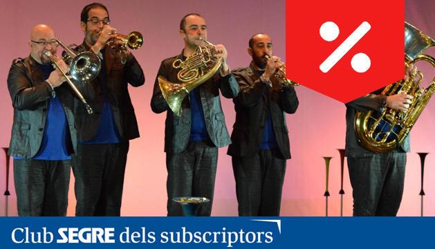 Spanish Brass, un dels quintets més dinàmics i consolidats del panorama musical espanyol.