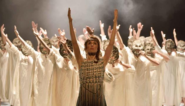Cor de Teatre reviu els moments clau de la Il·líada i l'Odissea