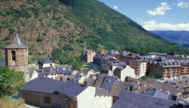 Imatge d'arxiu de la població del Rialp, al Sobirà.