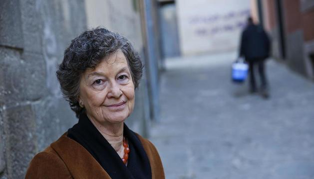 """Maria Barbal: """"En Benet acaba  essent feliç perquè confia en la cultura, a millorar"""""""
