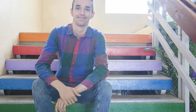 El alumno del instituto Ribera del Sió de Agramunt ganador del premio Exporecerca, Josep Ribalta.