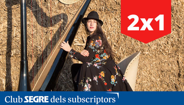 Berta Puigdemasa oferirà un concert d'arpa en la nova edició d'Oleaterra.