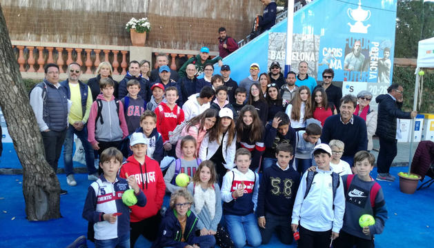 El Club Tennis Lleida, present un any més al Godó