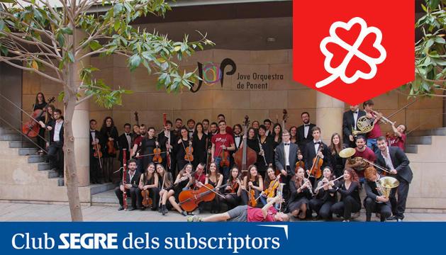 La Jove Orquestra de Ponent ens oferirà un concert amb obres de L. Boccherini, J. Stamitz i W. A. Mozart.