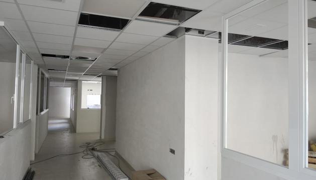 Obras de acondicionamiento del centro en Tremp.
