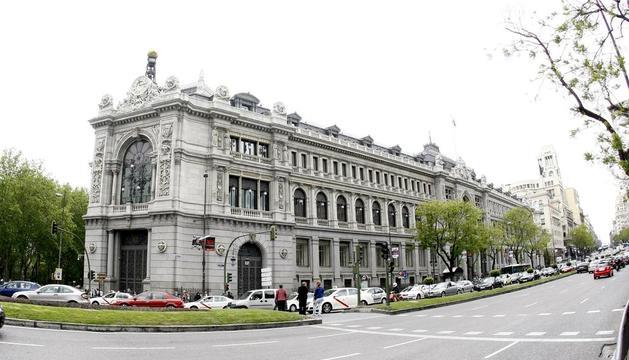 Imagen de la sede central en Madrid del Banco de España, supervisor del sistema financiero.