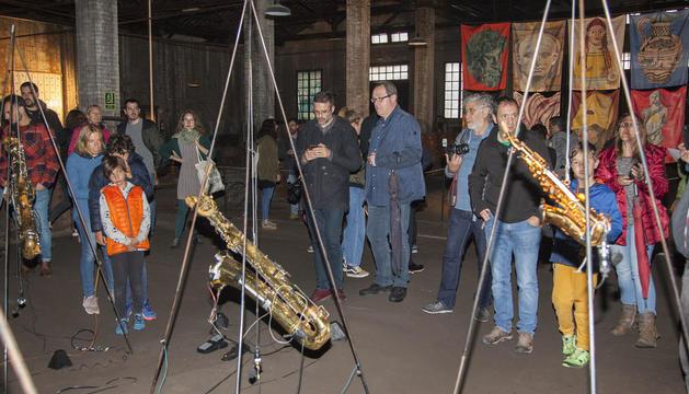 La inauguración de la exposición central 'La Gran Màquina VI' tuvo lugar ayer por la tarde.