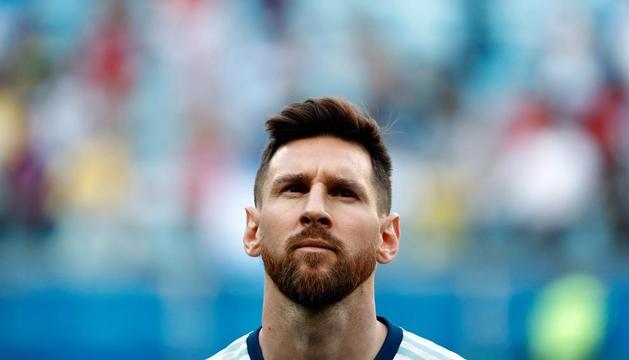 Leo Messi ha tornat a complir anys concentrat amb la selecció de l'Argentina,