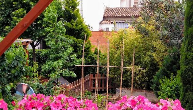 El jardí i l'hort d'una de les guanyadores del concurs 'El meu jardí', la Lara Vaquero.