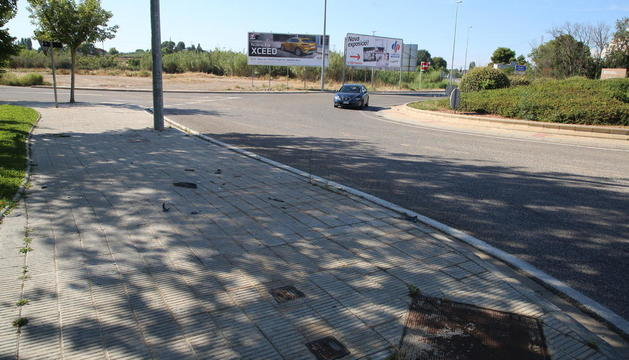 L'accident es va produir en aquest punt de Balàfia.