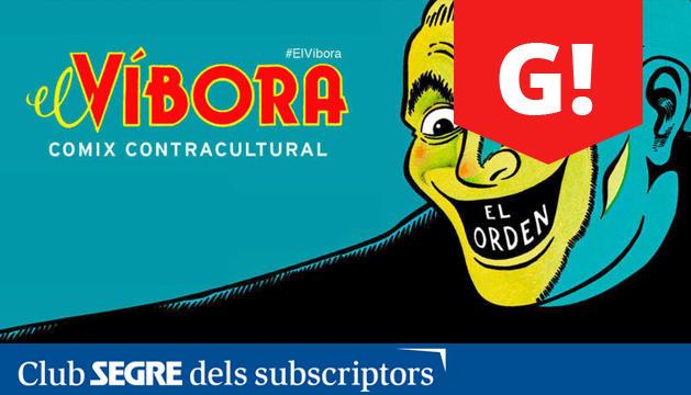 Una de les portades de la revista 'El Víbora', comix contracultural dels anys 80 i 90.