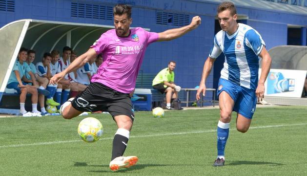 El Lleida tanca la pretemporada amb un empat en el camp de l'Espanyol B (1-1)