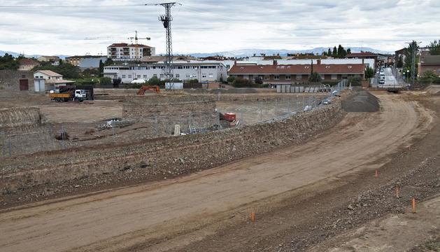 Los trabajos de urbanización comenzaron el pasado mes de julio.