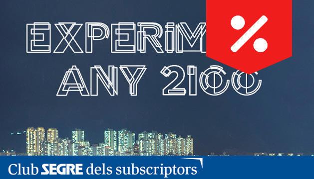 L'exposició 'Experiment Any 2100' vol mostrar al públic com pot ser el futur mitjançant tècniques prospectives.